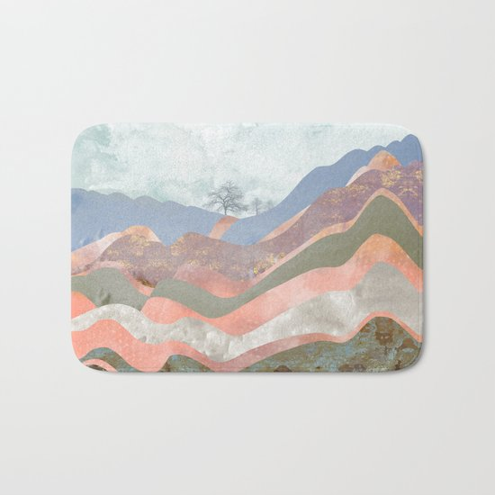 Journey to the Clouds Bath Mat