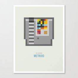 Metroid Cartridge Canvas Print