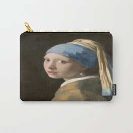 Girl with a Pearl Earring (1665), Old Masters Collection Carry-All Pouch
