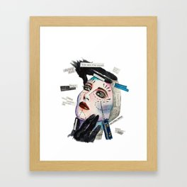 Fake Reality Framed Art Print