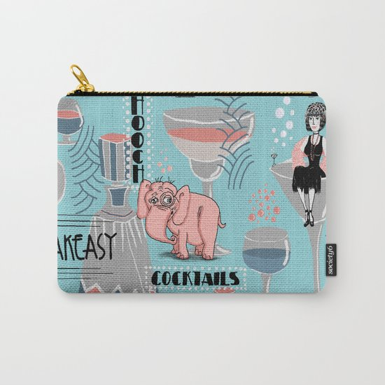 Prohibition Era, Cocktails, Anyone? Carry-All Pouch