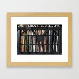 Vinyl DJ Crate Framed Art Print
