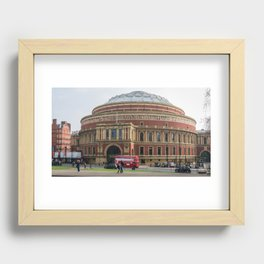 Royal Albert Hall Recessed Framed Print