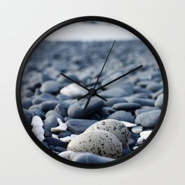 Oyster Catcher Nest Wall Clock