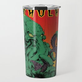 Vintage Cthulhu Travel Mug