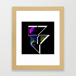 Screen and Projector Framed Art Print