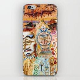 Xul Solar collage iPhone Skin