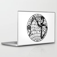 globe Laptop & iPad Skins featuring Globe by Gallymogger Print