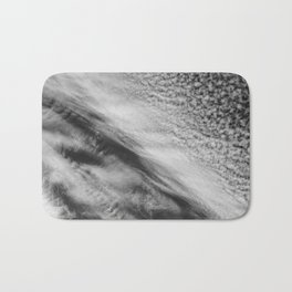 Cloud 01 (B&W) Bath Mat