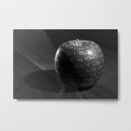 Poison apple Metal Print