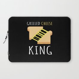 Grilled Cheese King BBQ Laptop Sleeve