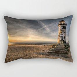 Lighthouse Seascape Rectangular Pillow