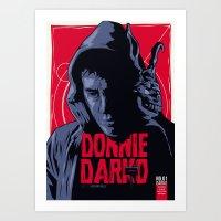 Donnie Darko - Fictive Comic Cover Art Print