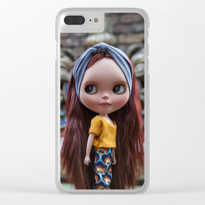 Noa in Camden Clear iPhone Case