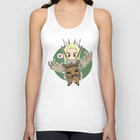 thranduil Tank Tops featuring  Thranduil by YattaGiulia