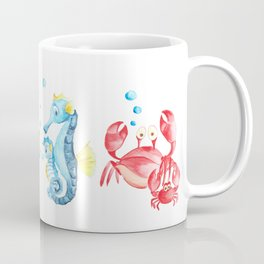 nautical decor nursery, ocean themed, sea turtle, sea animals Coffee Mug