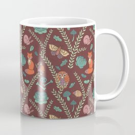 Autumn Forest Pattern Coffee Mug