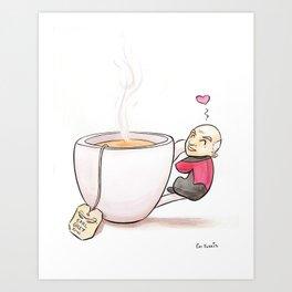 Tea, Earl Grey, Hot Art Print