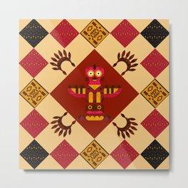 Indian patchwork42 Metal Print