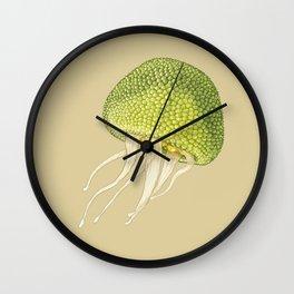 Jj - Jellyjack // Half Jellyfish, Half Jackfruit Wall Clock