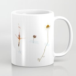 Wild flower triptych Coffee Mug