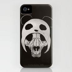 Panda Skull Slim Case iPhone (4, 4s)