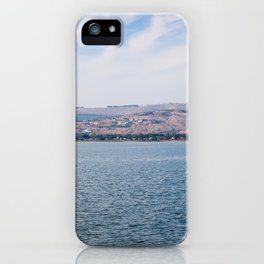 View from the Sea of Galilee iPhone Case