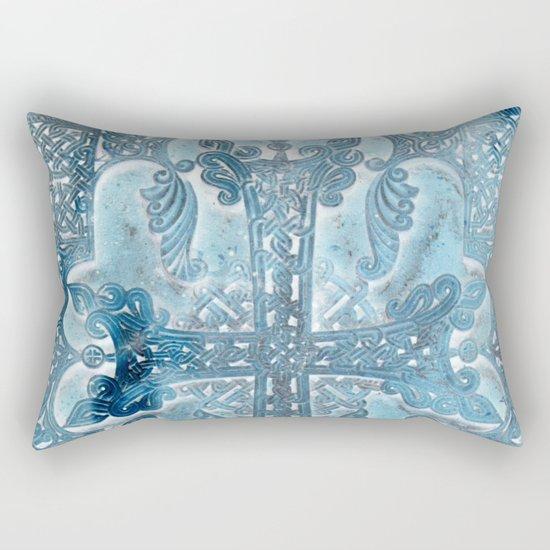 Celtic Blue - JUSTART © Rectangular Pillow