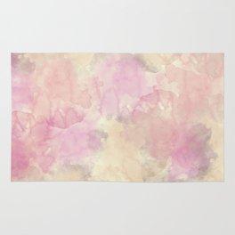 Creamy Watercolor Texture Rug