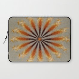 Feather Mandala Laptop Sleeve