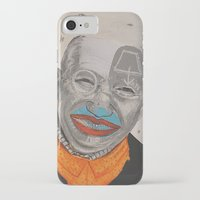 dad iPhone & iPod Cases featuring dad by ferzan aktas