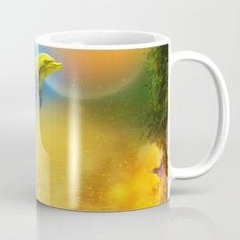 Colorful Dolphin Coffee Mug