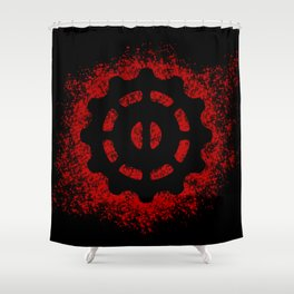 Helm of Awe Shower Curtain