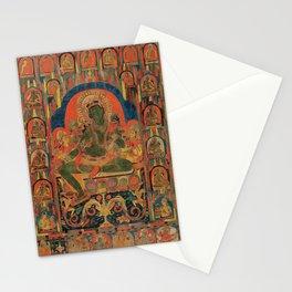 Hindu Krishna Tapestry Stationery Cards
