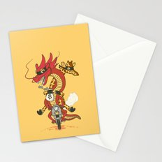 Unusual Partners In Crime Stationery Cards