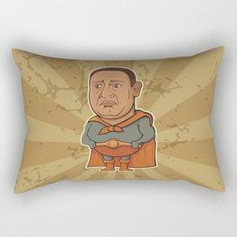 Sad Superhero Rectangular Pillow