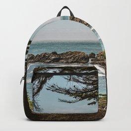 Sea Ranch Beach Lookout Printable Wall Art | California Nature Ocean Coastal Travel Photography Print Backpack