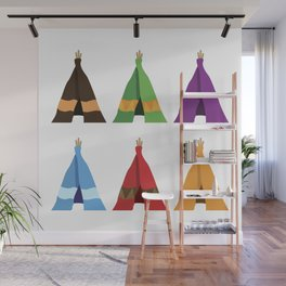 Tents Wall Mural
