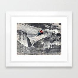 VALLEY GIRL Framed Art Print