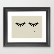 Bat of the Lashes Framed Art Print