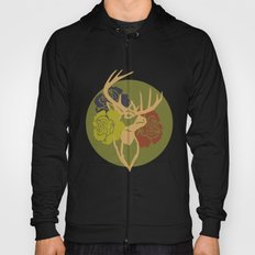 Antlers and Roses Hoody
