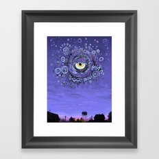 The Dragon of Evening Framed Art Print