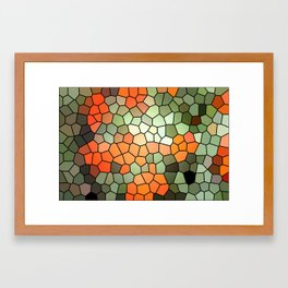 Pattern 6 - Tree Love Framed Art Print