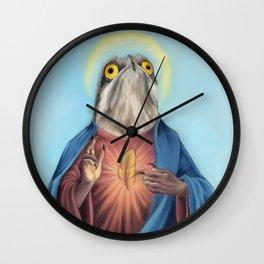 Potoo Jesus Wall Clock