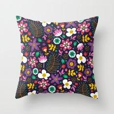 Sweet Viola Throw Pillow