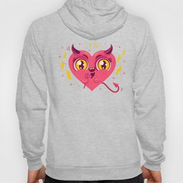 Devil heart Hoody