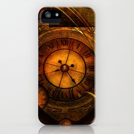 Awesome noble steampunk design iPhone Case