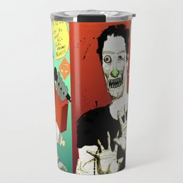 Pop mix of the some of the greats pop culture memories.  Travel Mug