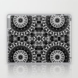 bw mandalas Laptop & iPad Skin