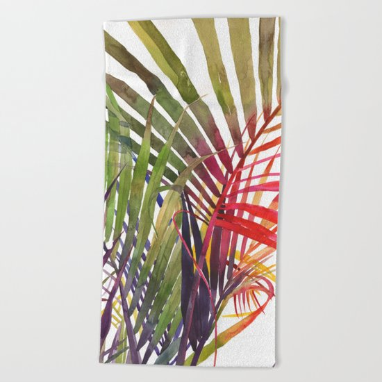 The Jungle vol 3 Beach Towel